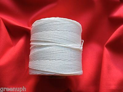 NYLON BUTTONING TWINE,25 Mts, UPHOLSTERY, CRAFT,p/p 2nd