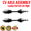 PAIR FRONT LEFT AND RIGHT CV DRIVE AXLE SHAFT ASSEMBLY For CHEVROLET SATURN