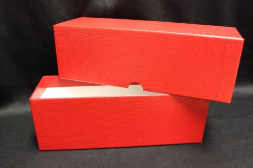200 Coin Holder Flip 2½ x 2½ 2 Mexican Libertad Silver Storage Box RED Case