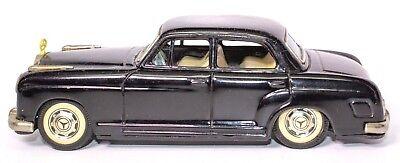 FleißIg Vintage Schwarz 594ms Mercedes Benz 219 Blech Reibung 4-türer Sedan Spielzeug
