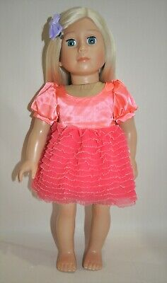 "American Girl Dolls Our Generation 18/"" Doll Clothes Formal Tutu Dress"