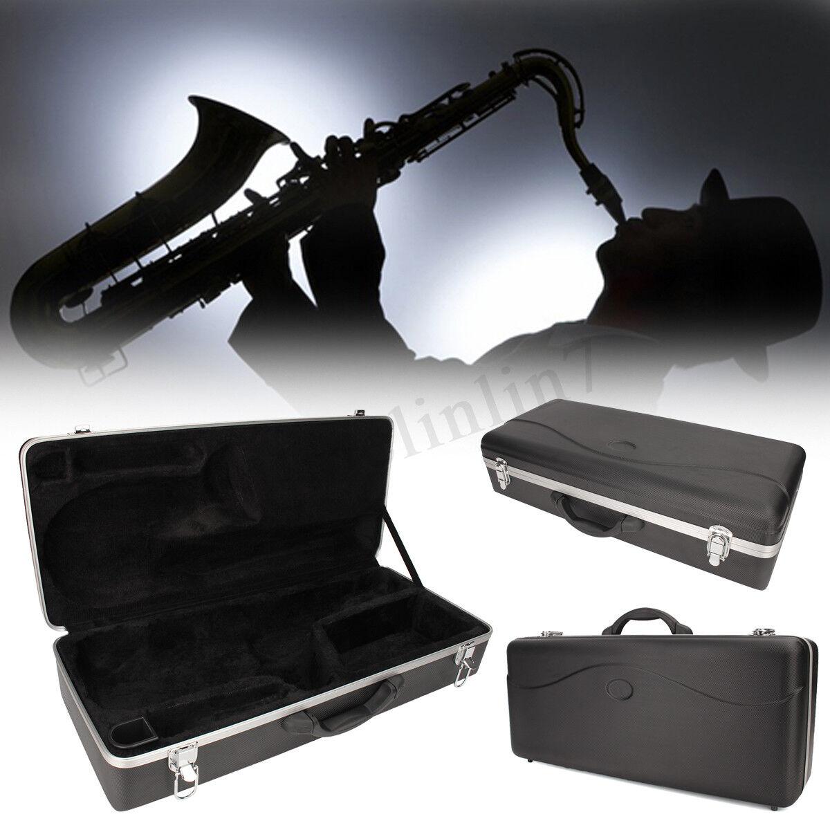 Professional Alto Saxophone Hardshell Case Sax Bag Box Instrument Predection UK
