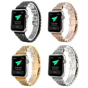 38-42-40-44mm-Bling-Diamonds-Stainless-Steel-Strap-for-Apple-Watch-4-3-2-1-Band