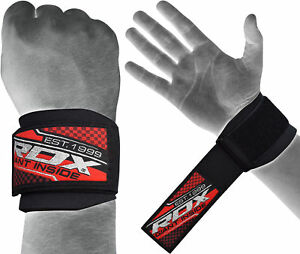 RDX fitness Straps Weightlifting Bands Wrist Support Gym