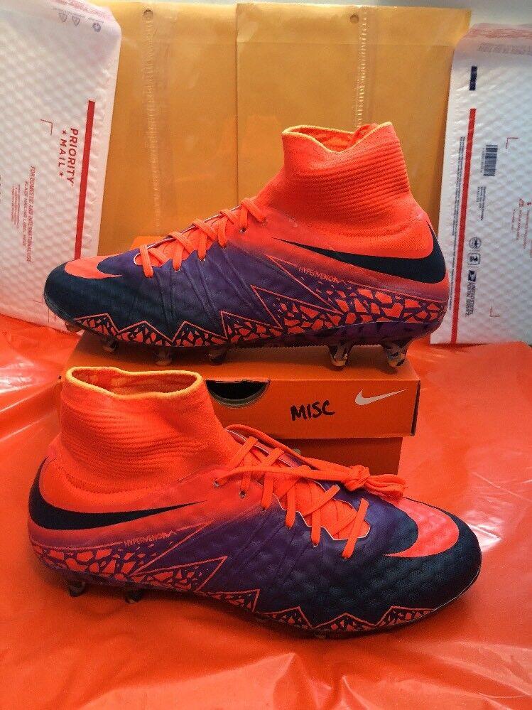 Nike HYPERVENOM PHANTOM 2 Ag Pro Sz 9 Orange/Black/purple Orange/Black/purple Orange/Black/purple Rare 844428-845 b91813