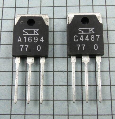 2SA1694-O /& 2SC4467-O A1694 C4467 Power Transistors 1 pair per Lot