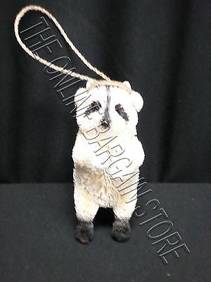 1 Pottery Barn Pb Woodland Whimsy Racoon Ornament