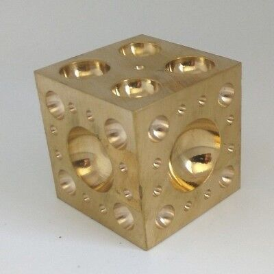 """Pro Quality 2/"""" Solid Steel Doming Dapping Block Metal Shaping Bead Jewellery etc"""