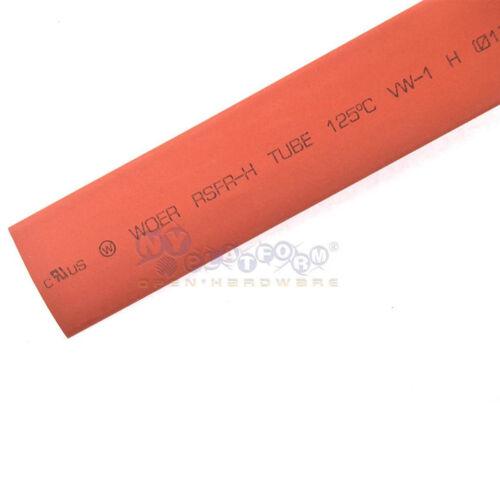 Red 12 mm Heat Shrink Tubing Tube Sleeve Wrap RoHS 5 Feet 1.5m