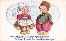 POSTCARD  COMIC   BAMFORTH    DUTCH  KIDS  Series  No  217
