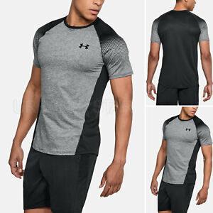 Men-039-s-Under-Armour-MK-1-Dash-Printed-Left-Chest-HeatGear-Ultra-Soft-Gym-T-Shirt