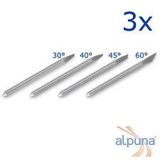 3 Plottermesser für Mimaki 60° ALPUNA Qualitätsmesser