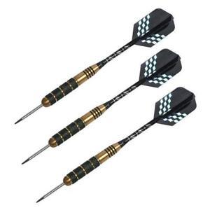 1pc Nickel Plating Darts 22g Random Color Steel Needle Dart Hard Flights Ti P6D9