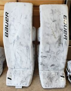 Détails : Bauer Supreme 1S OD1N Medium 34+1 Leg pads goalie equipment