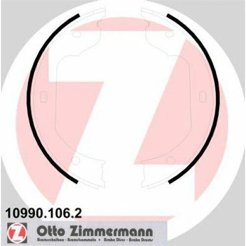 1x Jeu de Mâchoires Frein à Main Zimmermann 10990.106.2