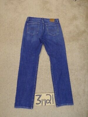 Clothing, Shoes & Accessories Lucky Brand 121 Heritage Slim 34x34 Blue Jeans Measure 35x33.5 #lky742 Complete Range Of Articles Men's Clothing