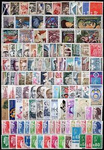 Francia-Lotto-di-117-francobolli-Nuovi-MNH