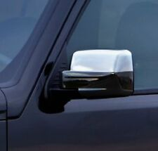 CHROME DOOR WING MIRROR TRIM COVERS CAPS SET STAINLESS STEEL FOR DODGE NITRO