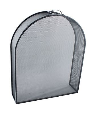 Matte Black Arched Style Box Fire Guard / Fire Screen / Spark Guard Met De Nieuwste Apparatuur En Technieken