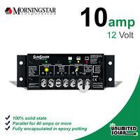 Morningstar Sunsaver 10 Amp 12 Volt Solar Charge Controller