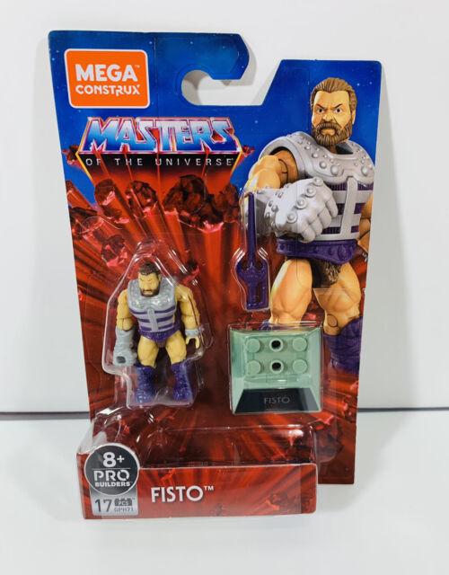 Mega Construx Masters of the Universe Heroes Series 4 FISTO mini figure IN STOCK