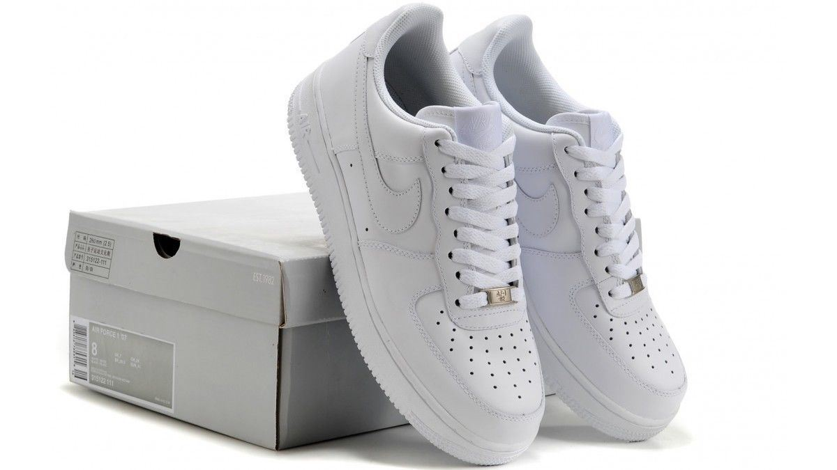 Nike Mens Air Force 1 '07 Trainers White   (315122-111)