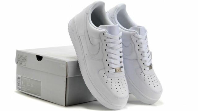 newest 6b023 36435 Nike Mens Air Force 1  07 Trainers White (315122-111)