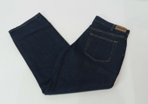 Wash Denim Jeans Nwot Relaxed Taille Signature Kirkland Coupe 44840250560 Us Dark En 30x32 tZp0w4q