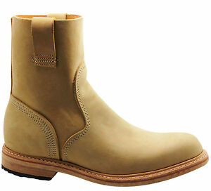 timberland boot company coulter mens slip on boots sand leather 4124r uw1. Black Bedroom Furniture Sets. Home Design Ideas