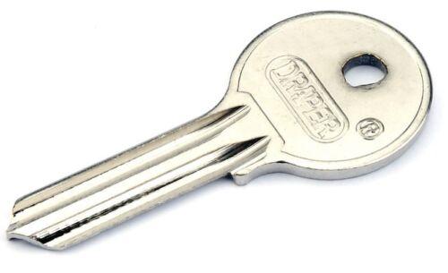 Genuine Draper Key Blank For 21575 50 mm Fermer Manille Cadenas78794
