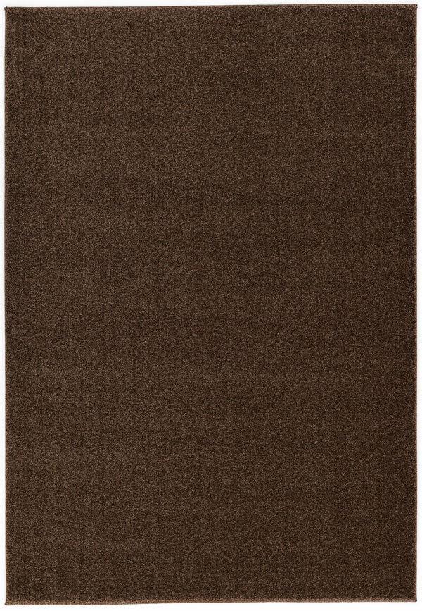 ASTRA samoa tapis uni 6870 001 066 Marron 200x290cm NEUF