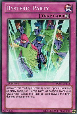 LCJW-EN112 - HYSTERIC PARTY - SUPER RARE 1st ed. CARD