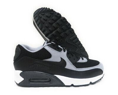 537384 053 Nike Air Max 90 Essential (Black Wolf Grey) Men Sneakers | eBay