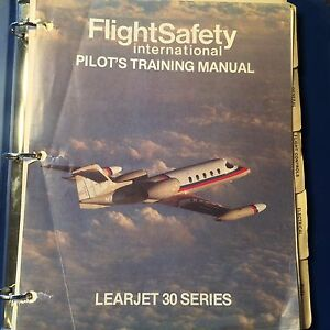 flying the classic learjet a pilot training manual for the learjet 35a36a aircraft