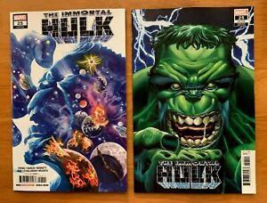 IMMORTAL-HULK-25-Alex-Ross-Main-Cover-A-Bennet-Variant-Set-Marvel-2019-NM