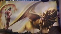 Dragon Caller Version 2 Playmat Mtg Yugioh Force Of Will Pokemon