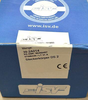 Isv Marechal 39-2a014 Steckerkörper Ds2 /// 1 Stück /// Neu Blut NäHren Und Geist Einstellen Sonstige Stecker & Zubehör Business & Industrie