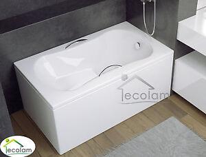 badewanne wanne rechteck sitzbadewanne mini mit sitz 120 x 70 cm sch rze acryl ebay. Black Bedroom Furniture Sets. Home Design Ideas