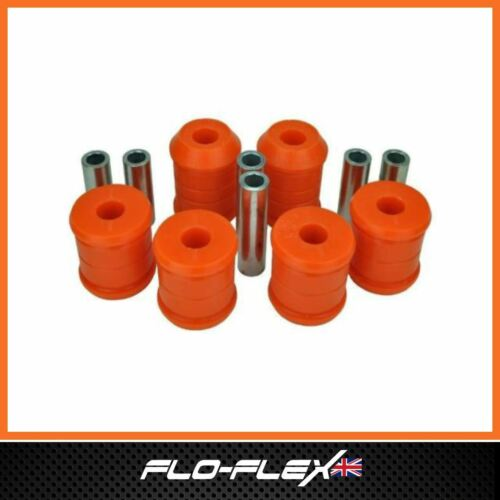Land Rover Discovery 2 Suspension Bushes Front Radius Arm /& Chassis Axle in Poly
