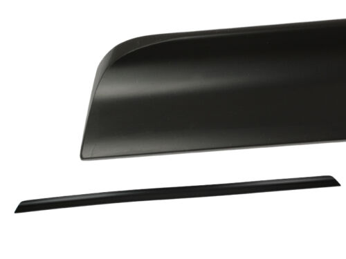 BOOT LIP SPOILER PAINTED Audi A6 C6 GLOSS BLACK 2004-2011