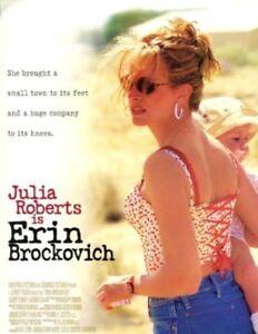Erin Brockovich 2000 Original Movie Press Kit Julia Roberts Albert Finney Ebay