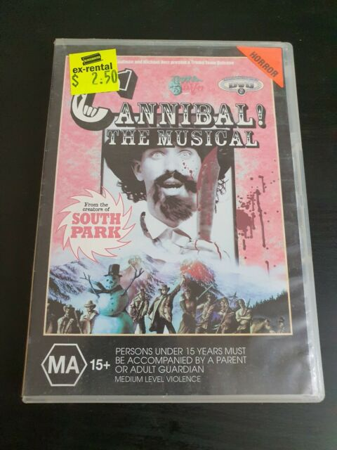 Cannibal! - The Musical (DVD, 2017) R4