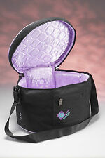 Charles Owen Riding Hat Storage Carry Bag BLACK & PURPLE + worldwide shipping