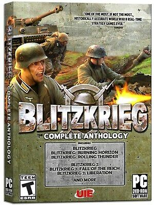 Blitzkrieg: The Complete Anthology PC *NEW*