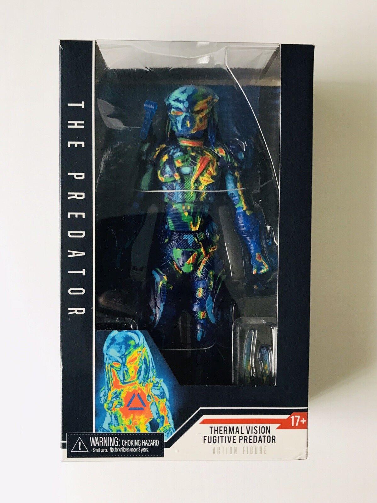 NECA Thermal Vision Fugitive Predator Target Exclusive Figure NEW