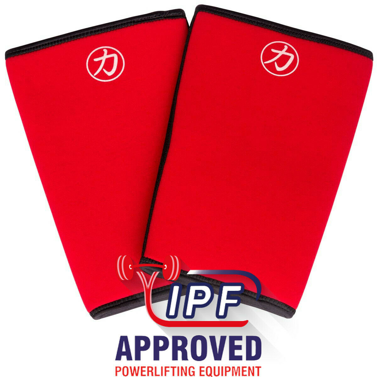 STRENGTH SHOP 7MM INFERNO KNEE SLEEVES IPF APPROVED (MEDIUM) - FAST SHIPPING