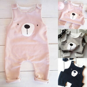 Newborn-Infant-Baby-Boys-Girls-Cute-Bear-Romper-Jumpsuit-Bodysuit-Clothes-Outfit