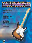 New Best of Bruce Springsteen for Guitar: Easy Tab Deluxe by Bruce Springsteen (Paperback, 1996)