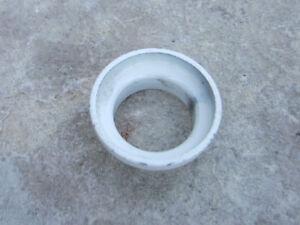 "NOS Old School BMX 1 1//8/"" White Upper Cup Stem Headset"