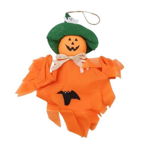 Halloween Scarecrow Ghost Hanging Ornaments Horror Party Door Decor Supplies DD